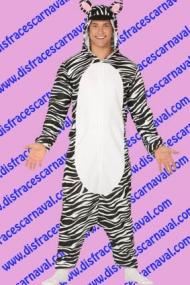 disfraz cebra pijama