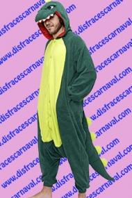 disfraz dinosaurio pijamero