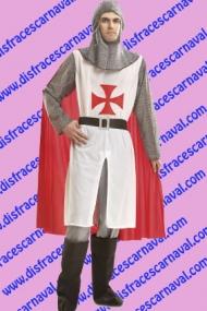 disfraz caballero medieval templario
