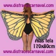 alas de mariposa de tela