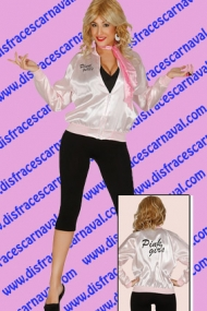 Chaqueta pink lady grease