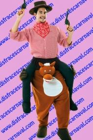 Montado en caballo