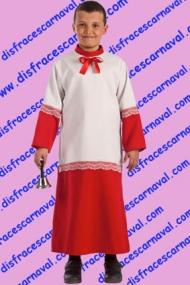disfraz monaguillo niño