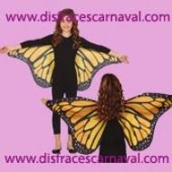 alas mariposa tela