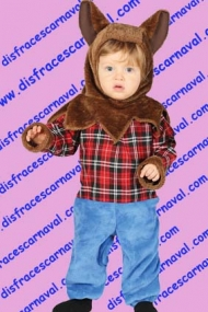 Disfraz hombre lobo bebe