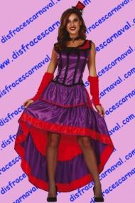 disfraz chica de saloon