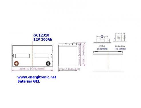 BATERIA GEL GC12310