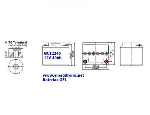 BATERIA GEL GC12240