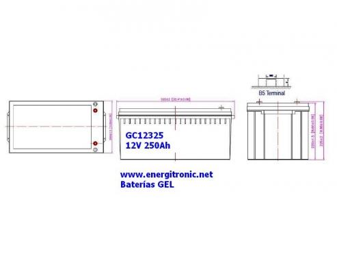 BATERIA GEL GC12326
