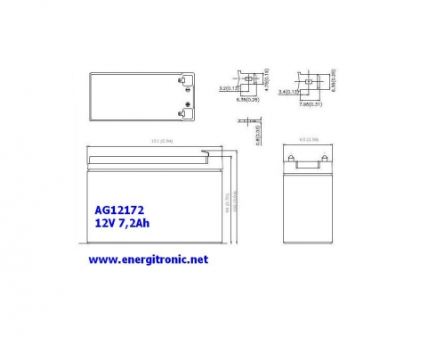 BATERIA AGM AG12172