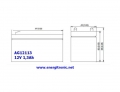 BATERIA AGM AG12113