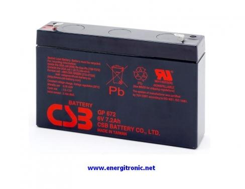 BATERIA CSB GP672
