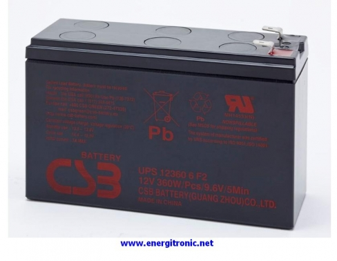 BATERIA CSB UPS123606