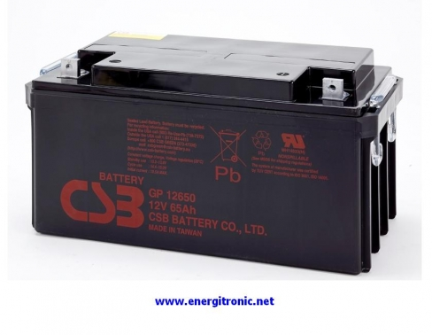 BATERIA CSB GP12650