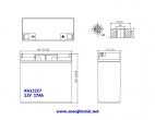 BATERIA AGM AG12217
