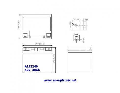 BATERIA AGM AL12240