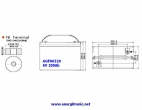 BATERIA AGM AGF06320