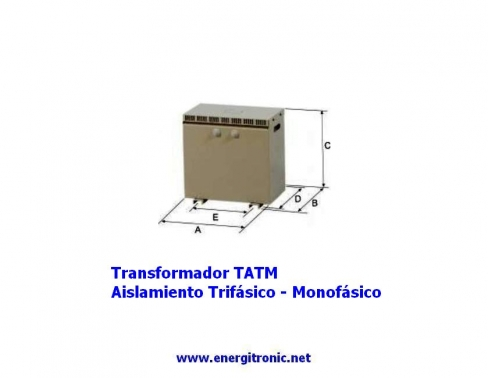 TRANSFORMADOR  TATM-6,3KVA