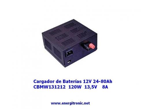 CARGADOR BATERIAS CBMW131212