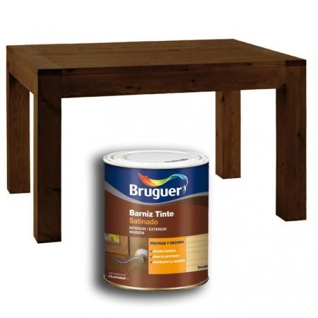 Bruguer barnices tinte satinado wengu tu tienda de - Barnices para madera ...