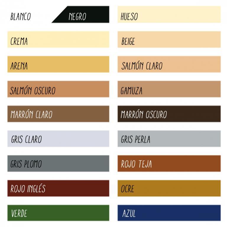 Pintura mate exterior p 60 bupisa tu tienda de pintura - Bruguer carta de colores ...