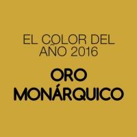 Color del año 2016: ORO MONÁRQUICO