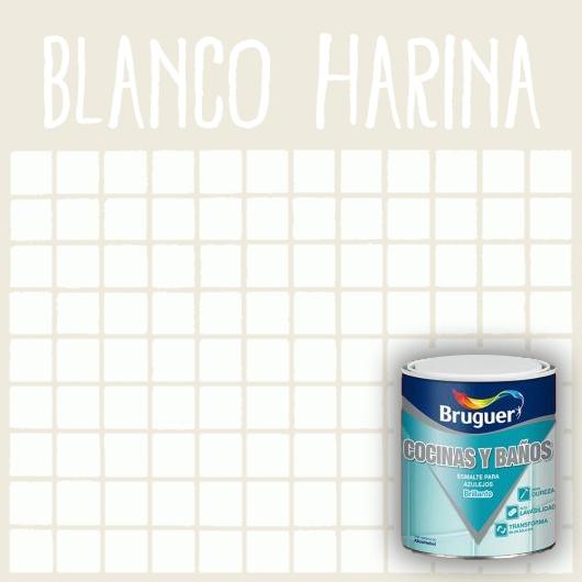 Esmalte de Azulejos Bruguer Blanco Harina