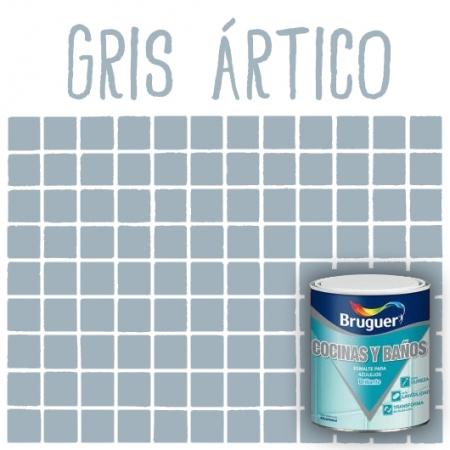 Esmalte de azulejos bruguer gris rtico tu tienda de pintura online - Esmaltes para azulejos ...