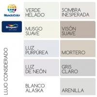 colores Bruguer lujo considerado