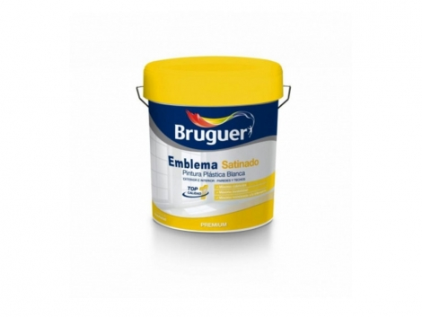 Pintura blanca Emblema Satinado Bruguer