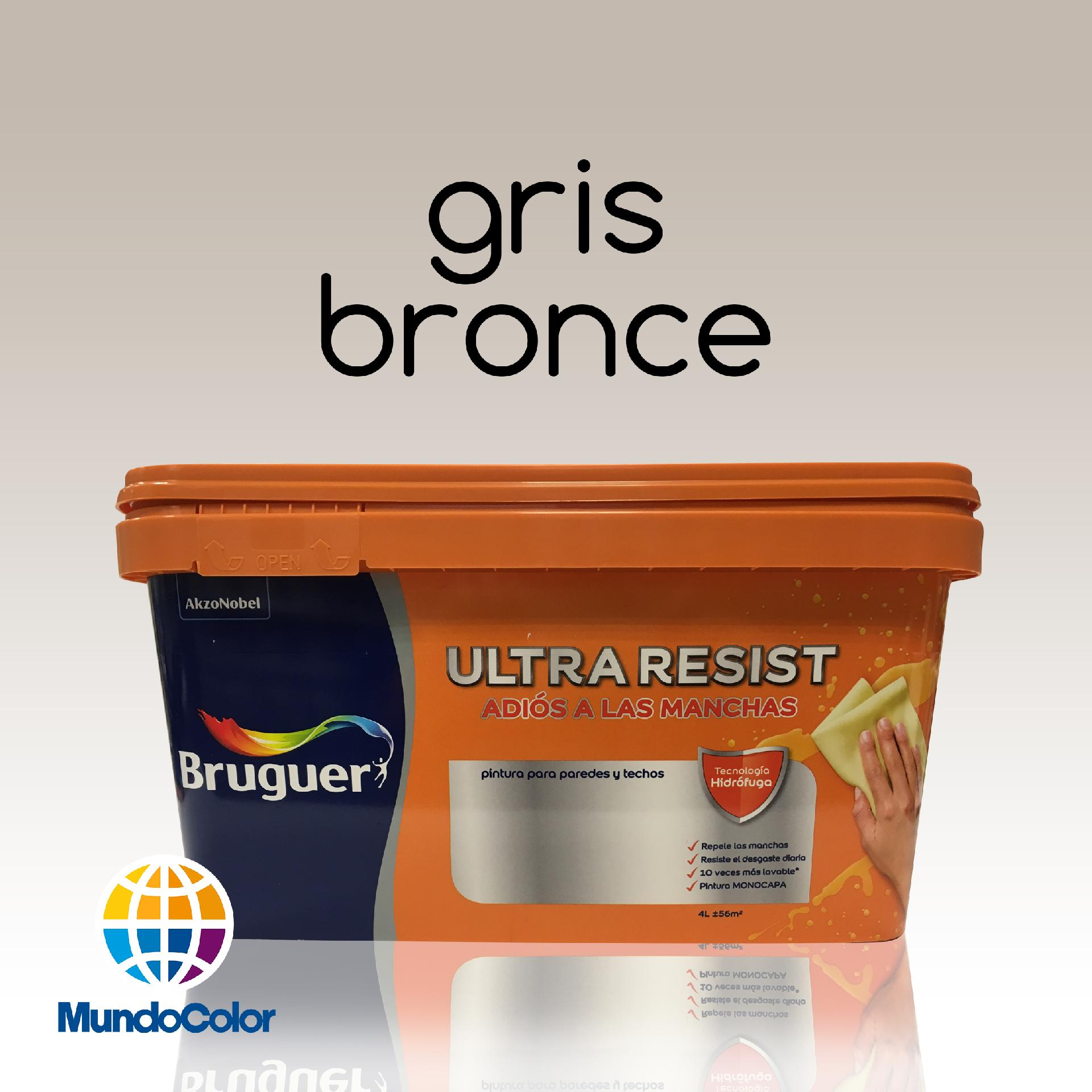 Bruguer Ultra Resist Gris Bronce