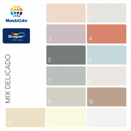 Colores Bruguer mix delicado
