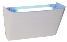 Matainsectos adhesivo blanco 18w