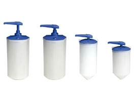 REFILLABLE INDUSTRIAL SOAP DISPENSERS