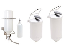 ELBOW OPERATED DISPENSERS