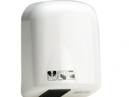 Sensor activated hand dryer. A.B.S. 1700w
