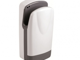 Hand dryer double jet White. Very fast drying...