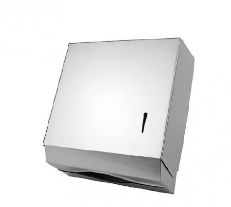 Stainless steel mutil-fold paper towel dispenser