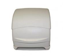 Dispensador bobina papel palanca ABS Blanco