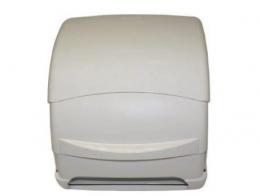 White A.B.S. Paper roll autocut dispenser