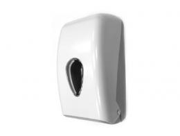 Mini centerfeed paper dispenser ABS white / grey