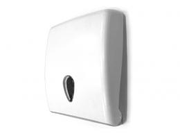Mutil-fold paper towel dispenser ABS white / grey