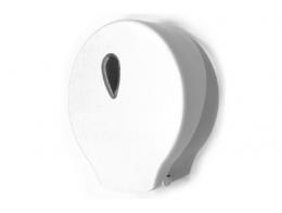 Toilet roll Maxi Jumbo dispenser ABS white / grey