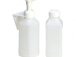 Dosificador espuma + soporte 500 cc