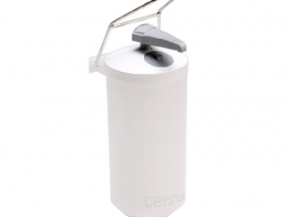 Elbow operated dispenser for liquids or gels....