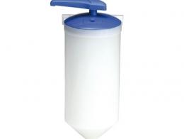Industrial dispenser for liquid and gel soaps 2 l