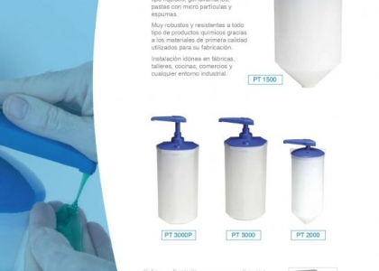 Dosificadores modelo industrial 1.5 - 2.0 - 3.0 litros