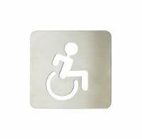 Pictograma aseos discapacitados (120x120 mm)