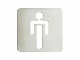 Pictograma WC homem (120x120 mm)