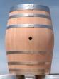 Barris 128 litros em carvalho Francês